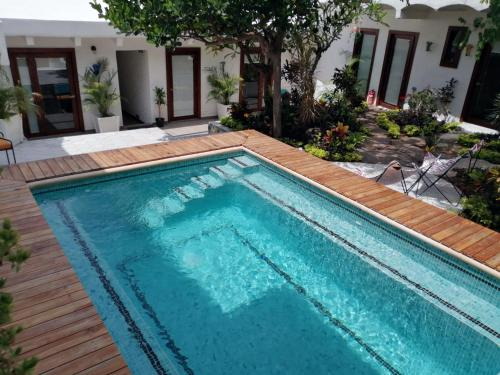 The swimming pool at or near Amaia Boutique Hotel