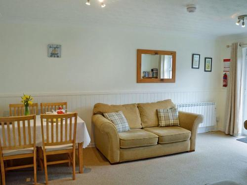 A seating area at Sand Martin