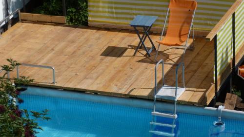 Der Swimmingpool an oder in der Nähe von Alte Schule