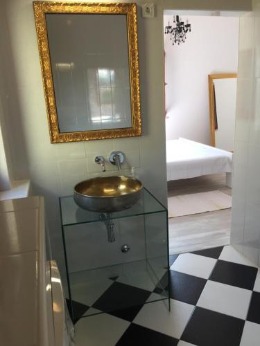 A bathroom at Villa Marija