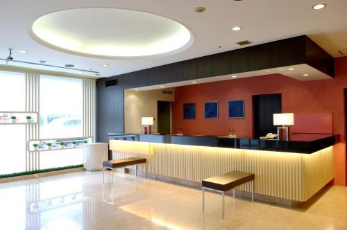The lobby or reception area at Via Inn Asakusa