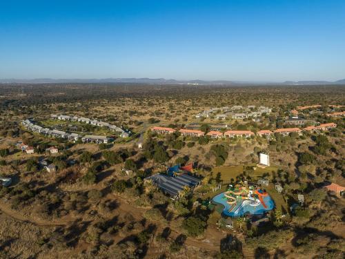 A bird's-eye view of The Kingdom Resort