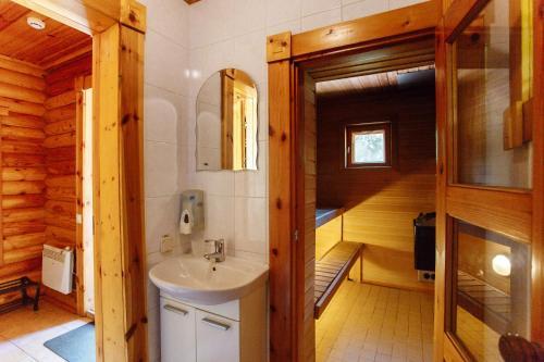 Ванная комната в База Отдыха Green Village