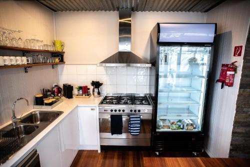 A kitchen or kitchenette at Amber Lodge Mt Buller