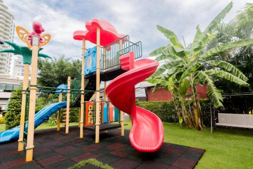 Children's play area at Surf and Sand Resort