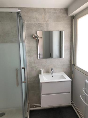 A bathroom at Les Cabines