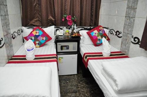 A kitchen or kitchenette at Pearl Premium Guest House(10/F)