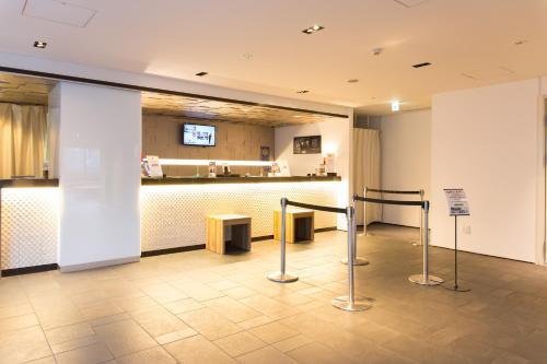 The lobby or reception area at ibis Styles Kyoto Station