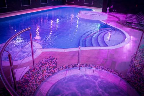 The swimming pool at or near Village Hotel Manchester Cheadle