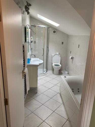 A bathroom at Lake Lounge Rooms