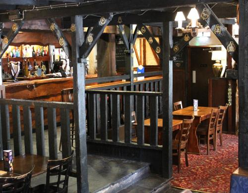 The lounge or bar area at The Ancient Mariner