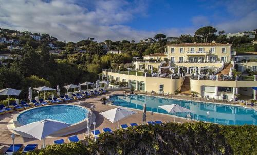 A view of the pool at Althoff Hotel Villa Belrose or nearby