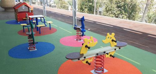 The fitness center and/or fitness facilities at Parador de Cádiz