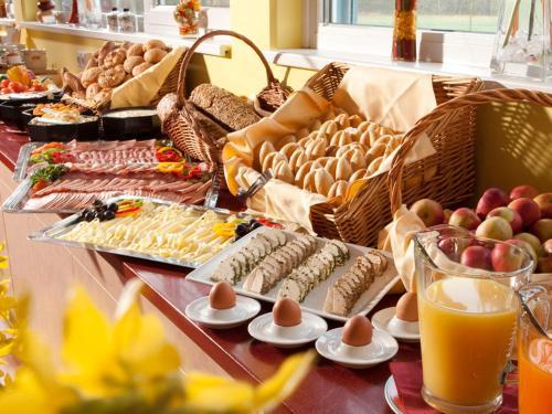 Frühstücksoptionen für Gäste der Unterkunft H2O-Hoteltherme