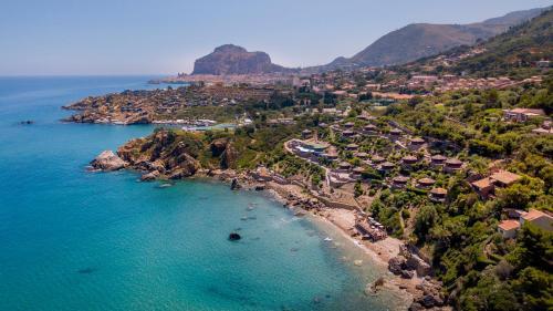 A bird's-eye view of Calanica Resort