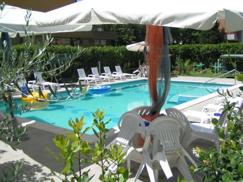 Piscina di Hotel Villa Rita o nelle vicinanze