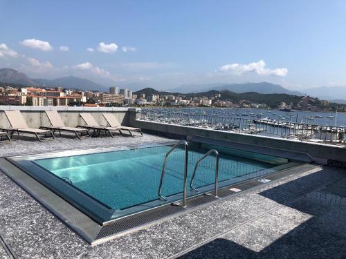 The swimming pool at or near ibis Styles Ajaccio Napoleon