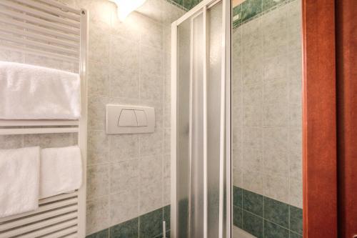A bathroom at Casa Carra