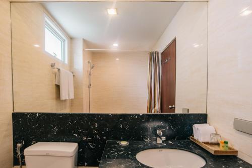 Ein Badezimmer in der Unterkunft iCheck inn Residence soi 2