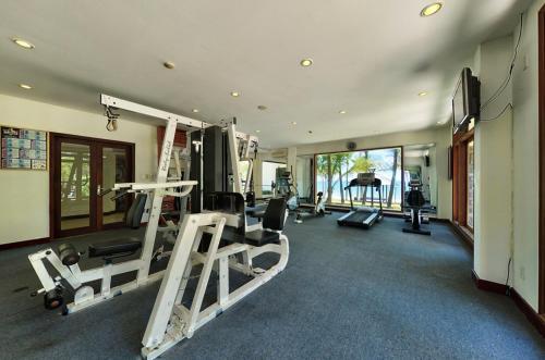 Phòng/tiện nghi tập thể dục tại Sun Spa Resort & Villa