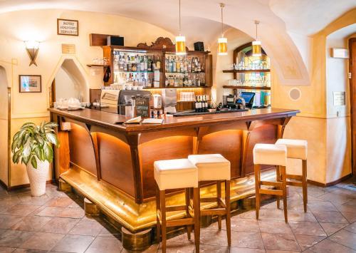 Salone o bar di Hotel Elite Prague