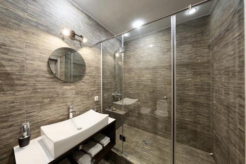 A bathroom at Moscotel