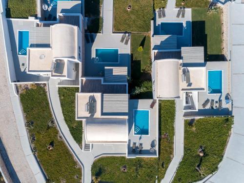 The floor plan of Desiterra Resort
