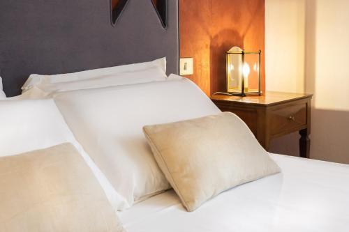 Letto o letti in una camera di FuordArno Bed & Breakfast