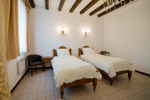 """Кровать или кровати в номере """"Villa Pia"""""""