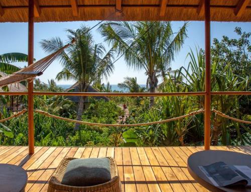 A balcony or terrace at Zuri Zanzibar