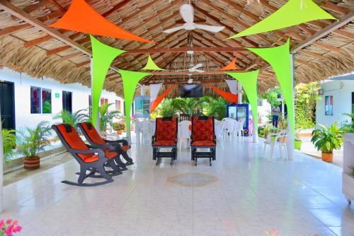 Ресторан / где поесть в Casa Hotel Las Antillas