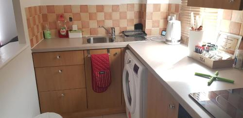 A kitchen or kitchenette at Sterling House, Tilbury with Netflix Entertainment
