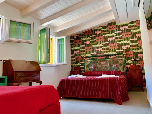 Letto o letti in una camera di La Panoramica