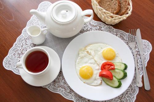Завтрак для гостей Отель Элегант