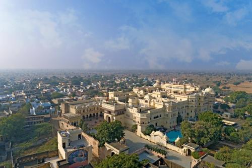 A bird's-eye view of Alsisar Mahal- Heritage Hotel