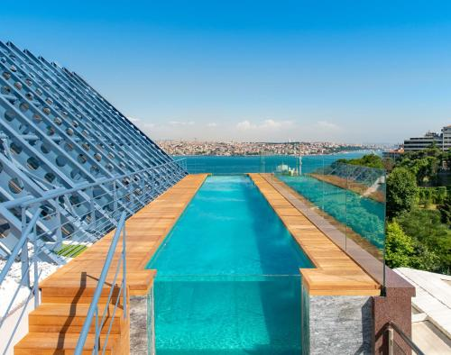 The swimming pool at or near The Ritz-Carlton, Istanbul at the Bosphorus