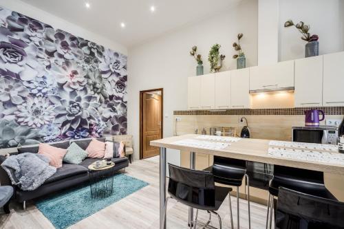 Kuchyň nebo kuchyňský kout v ubytování A9 Houseleek Residence