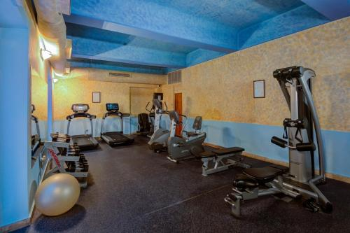 The fitness center and/or fitness facilities at Hotel El Convento