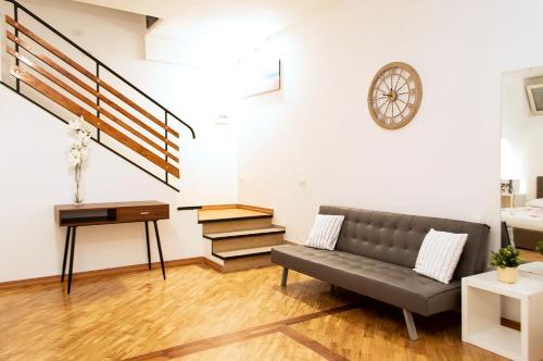 A seating area at Maribì - Casa Vacanze