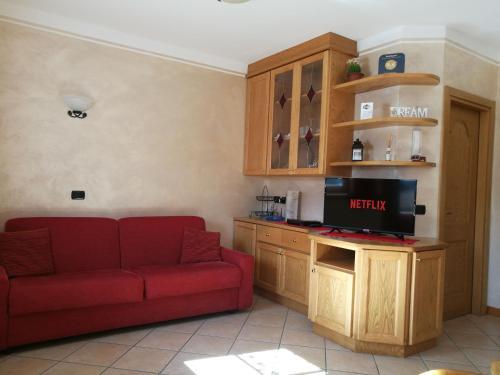 Kuchyň nebo kuchyňský kout v ubytování Chalet Claudia