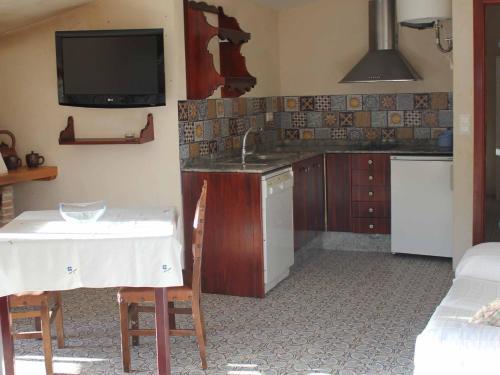 Una cocina o zona de cocina en Agroturismo La Artezuela