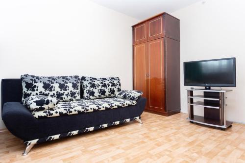 A seating area at Apartment Zhukovskogo 5/2