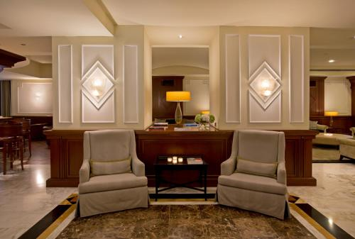 The lobby or reception area at Starhotels Majestic