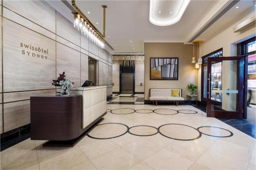 The lobby or reception area at Swissotel Sydney