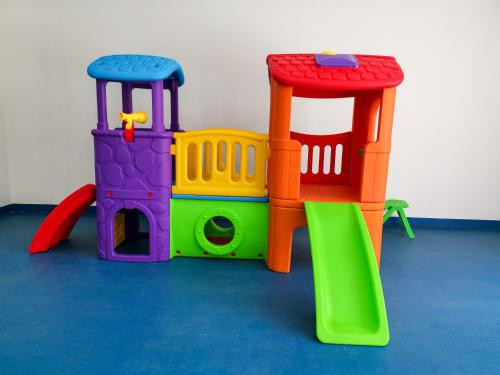 Children's play area at The Spot Residence