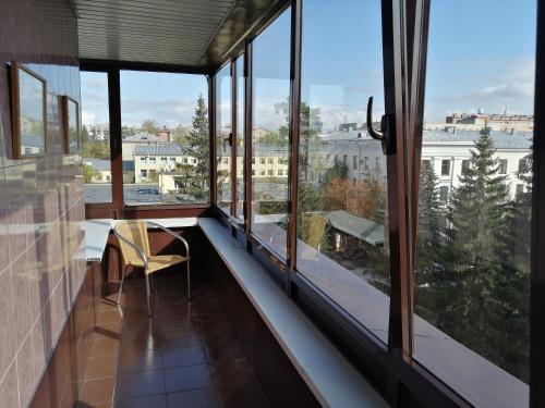 Балкон или терраса в Гостиница Октябрьская