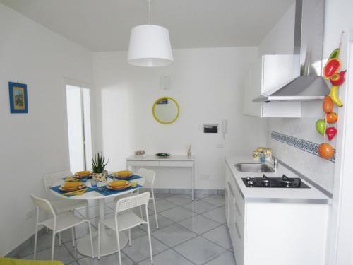 A kitchen or kitchenette at Al Piccolo Mercante