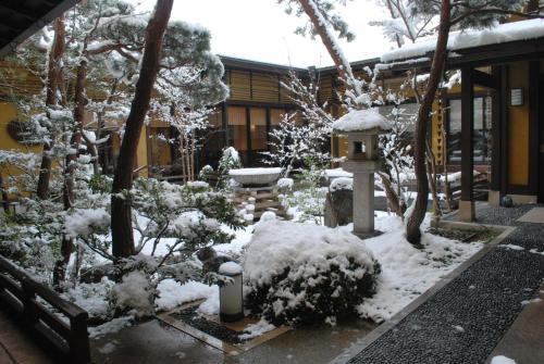 Biwako Hanakaido during the winter