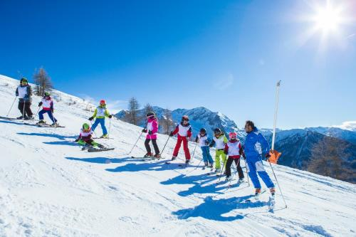 Skiing at the resort or nearby