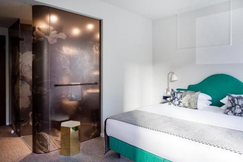 Ein Badezimmer in der Unterkunft The Fritz Düsseldorf Königsallee
